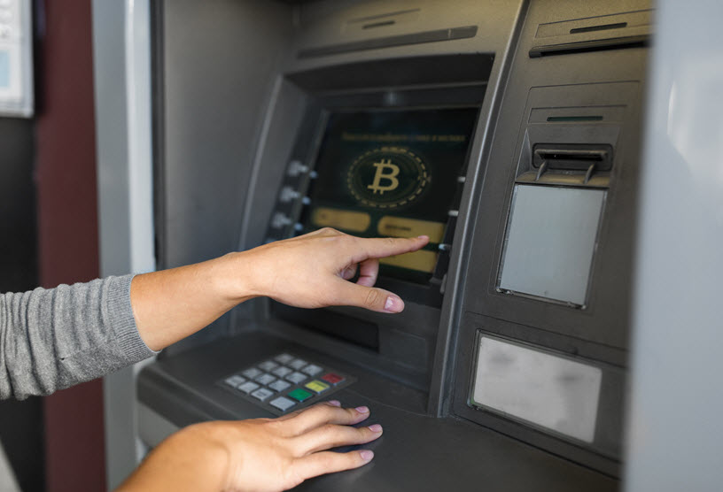 Cryptocurrency ATM by CoinWhale